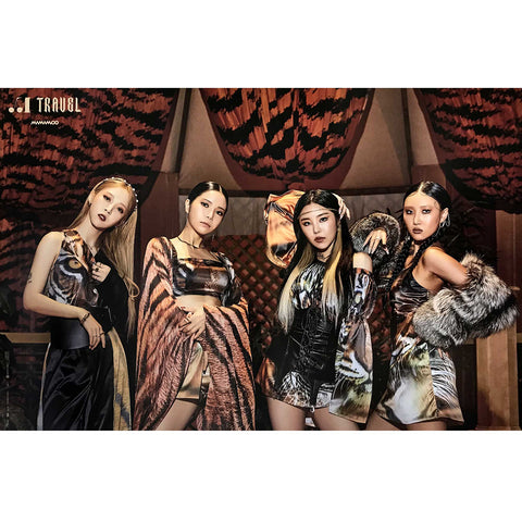 MAMAMOO 10TH MINI ALBUM 'TRAVEL' POSTER ONLY