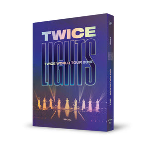 TWICE 'WORLD TOUR 2019 TWICELIGHTS IN SEOUL' CONCERT BLU-RAY