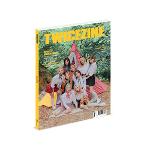 TWICE 5TH ANNIVERSARY OFFICIAL MERCHANDISE 'TWICEZINE VOL.2'