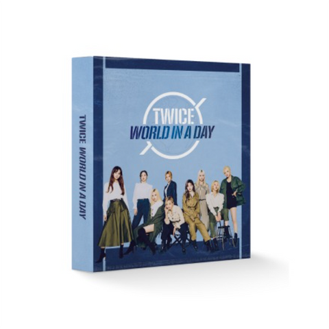TWICE '2020 WORLD IN A DAY PHTO CARD BINDER'
