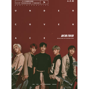 A.C.E 2ND MINI ALBUM 'UNDER COVER' + POSTER