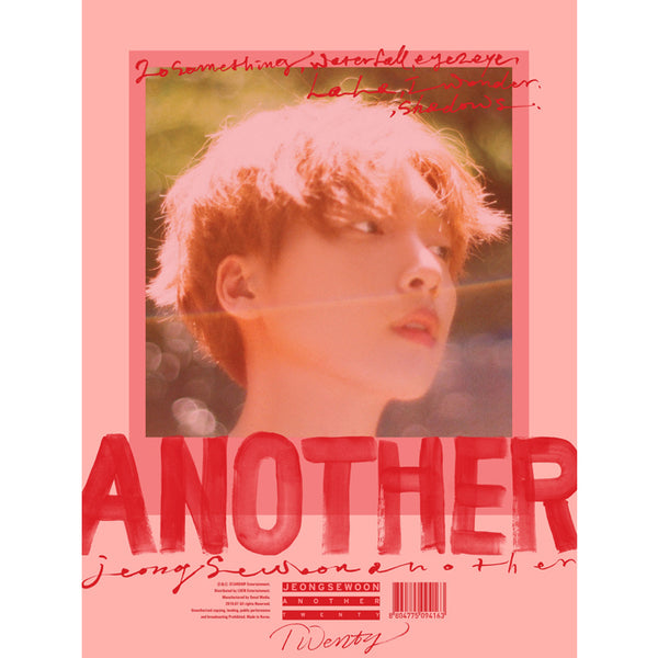 JEONG SEWOON 2ND MINI ALBUM 'ANOTHER'