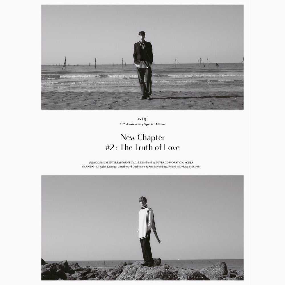 TVXQ 15TH ANNIVERSARY SPECIAL ALBUM 'NEW CHAPTER #2: THE TRUTH OF LOVE'