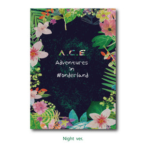 A.C.E 1ST REPACKAGE ALBUM 'A.C.E ADVENTURES IN WONDERLAND' + POSTER