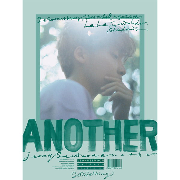 JEONG SEWOON 2ND MINI ALBUM 'ANOTHER' + POSTER