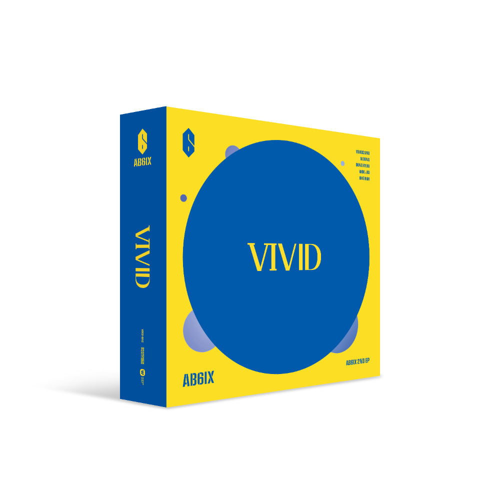 AB6IX 2ND EP ALBUM 'VIVID'