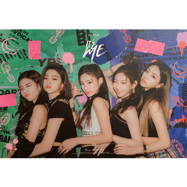 ITZY ALBUM 'IT'Z ME' POSTER ONLY