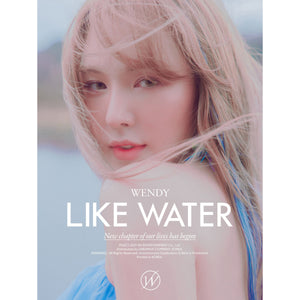 WENDY (RED VELVET) 1ST MINI ALBUM 'LIKE WATER'