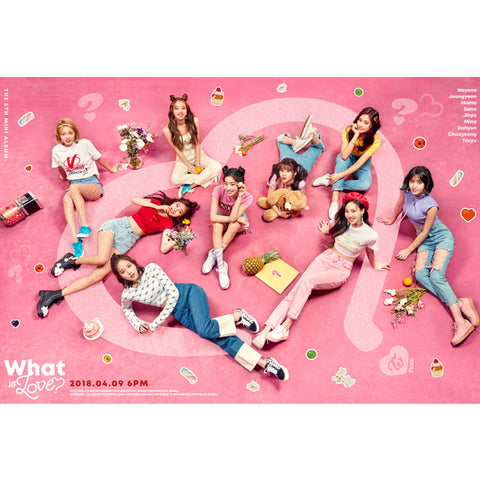 TWICE 5TH MINI ALBUM 'WHAT IS LOVE?'
