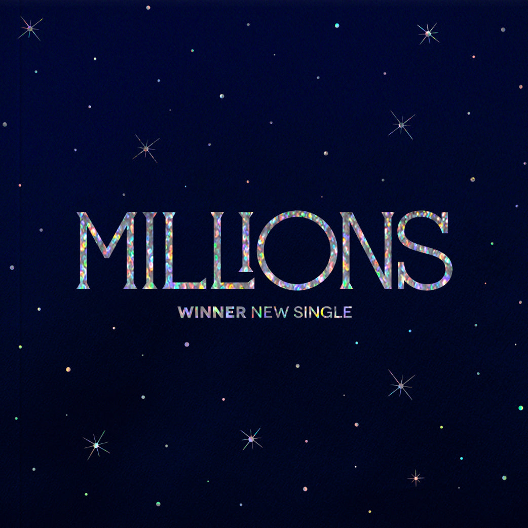 WINNER SINGLE ALBUM 'MILLIONS' + POSTER
