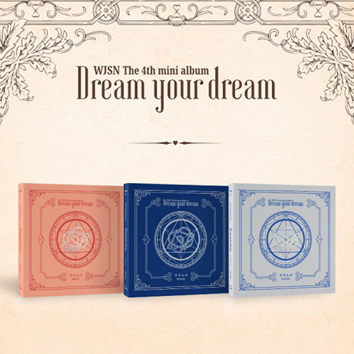 WJSN (COSMIC GIRLS) 4TH MINI ALBUM 'DREAM YOUR DREAM' + POSTER