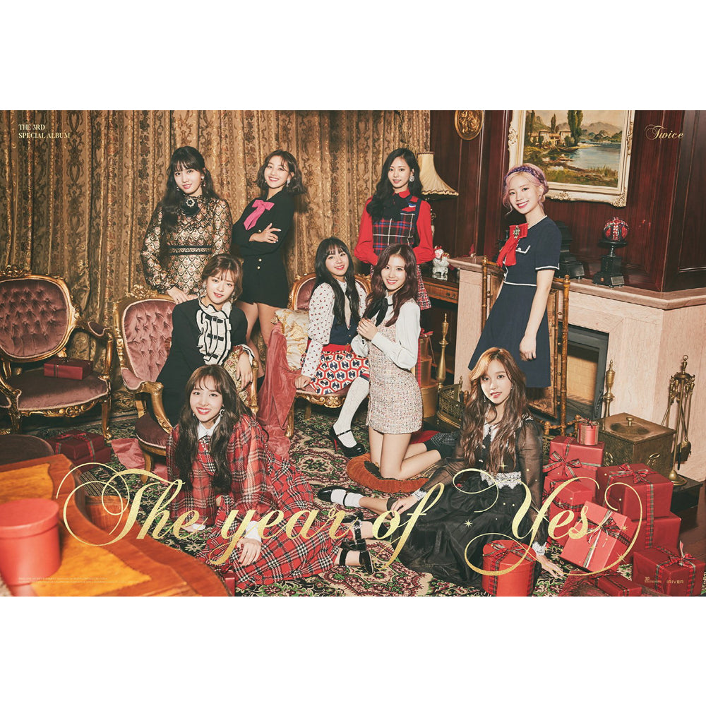 TWICE 3RD SPECIAL ALBUM 'THE YEAR OF YES' POSTER ONLY