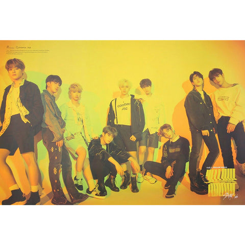STRAY KIDS SPECIAL ALBUM 'CLE 2 : YELLOW WOOD' REGULAR VERSION POSTER ONLY