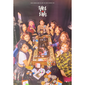 TWICE 6TH MINI ALBUM 'YES OR YES' POSTER ONLY