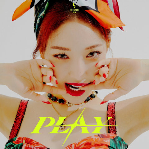 CHUNG HA SINGLE ALBUM 'MAXI SINGLE' + POSTER