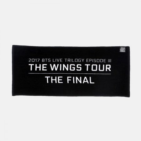 BTS 'THE WINGS TOUR THE FINAL' OFFICIAL TOWEL