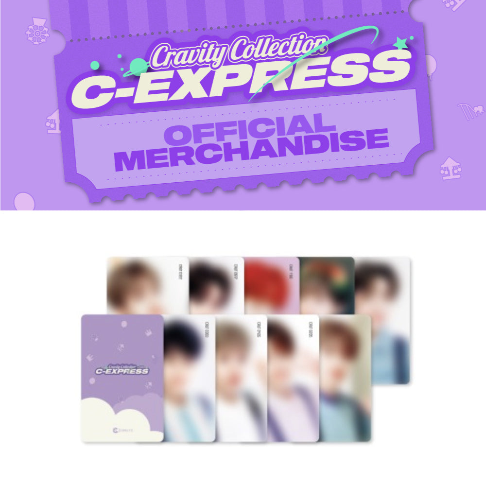 CRAVITY 'C-EXPRESS OFFICIAL MERCHANDISE PHOTO CARD SET'