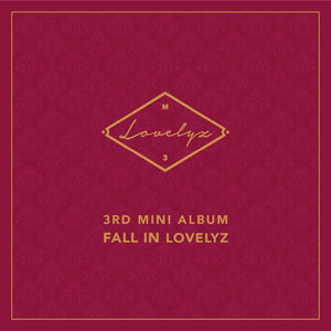 LOVELYZ 3RD MINI ALBUM 'FALL IN LOVELYZ' + POSTER