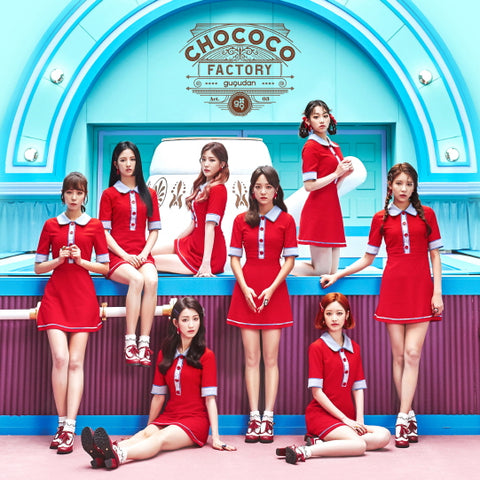 GUGUDAN 1ST SINGLE ALBUM 'CHOCOCO FACTORY'