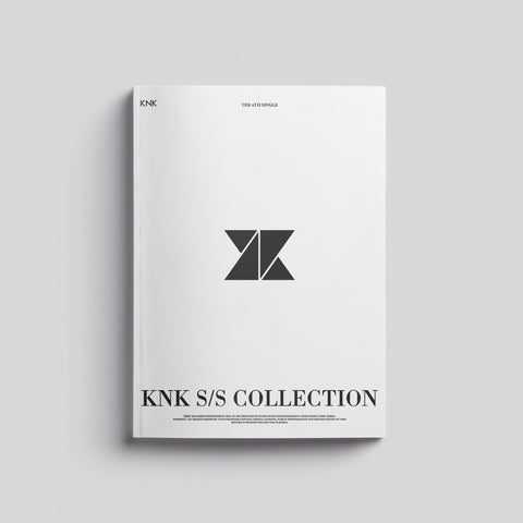 KNK 4TH SINGLE ALBUM 'KNK S/S COLLECTION' + POSTER