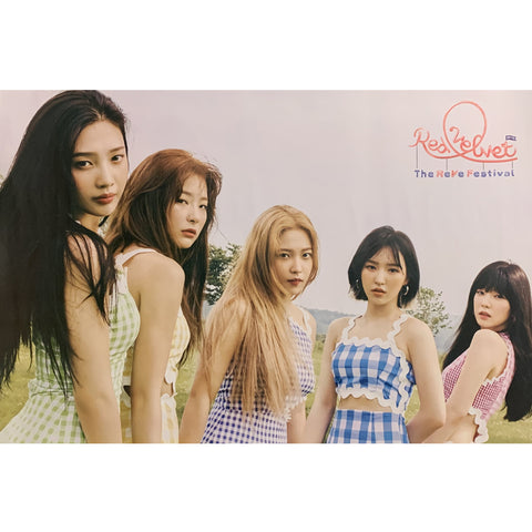 RED VELVET 7TH MINI ALBUM 'THE REVE FESTIVAL DAY 2' POSTER ONLY