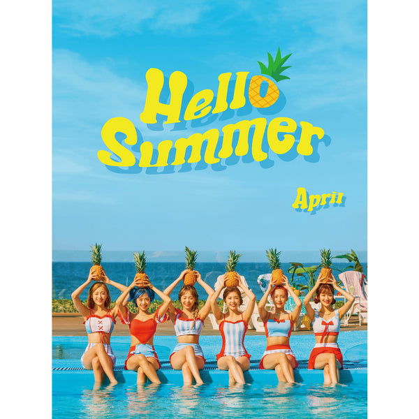 APRIL SUMMER SPECIAL ALBUM 'HELLO SUMMER' + POSTER