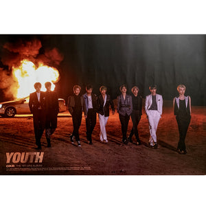 DKB 1ST MINI ALBUM 'YOUTH' POSTER ONLY