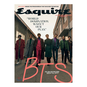 ESQUIRE WINTER 2020/21 MAGAZINE (BTS COVER)