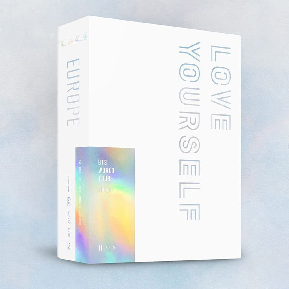 BTS 'LOVE YOURSELF EUROPE' CONCERT BLU-RAY