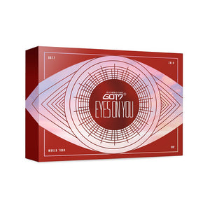 GOT7 'EYES ON YOU WORLD TOUR' BLU-RAY