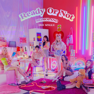 MOMOLAND 3RD SINGLE ALBUM 'READY OR NOT' + POSTER
