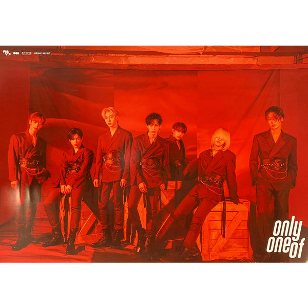 ONLYONEOF ALBUM 'PRODUCED BY [ ] PART 2' POSTER ONLY