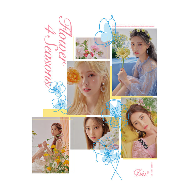 DIA 6TH MINI ALBUM 'FLOWER 4 SEASONS'