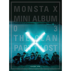 MONSTA X 3RD MINI ALBM 'THE CLAN 2.5 PART.1'