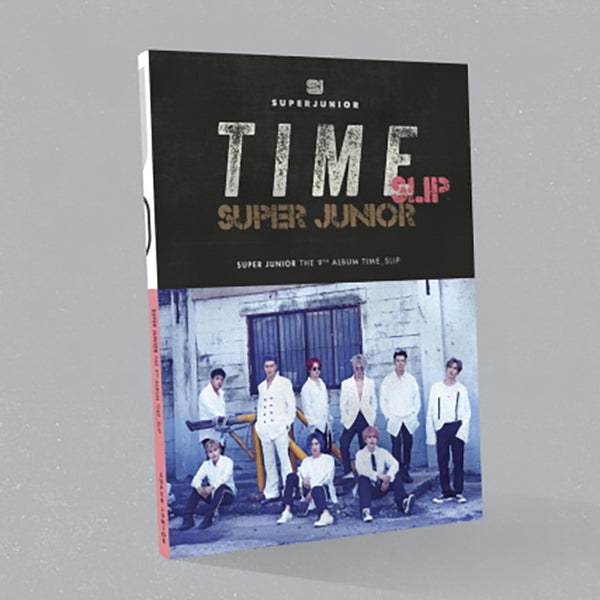 SUPER JUNIOR 9TH ALBUM 'TIME SLIP'