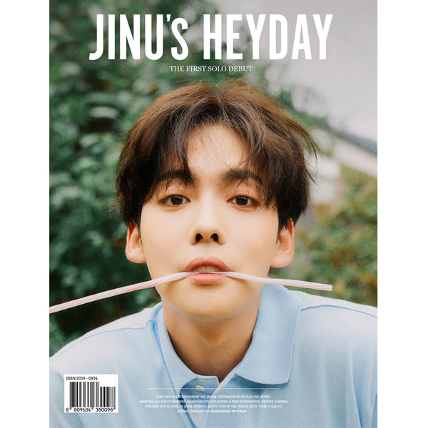 JINU (WINNER) 1ST SINGLE ALBUM 'JINU'S HEYDAY'