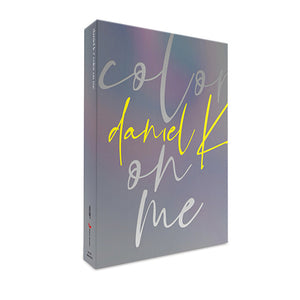 KANG DANIEL 1ST MINI ALBUM 'COLORS ON ME' + POSTER