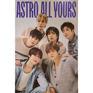 ASTRO 2ND ALBUM 'ALL YOURS' POSTER ONLY