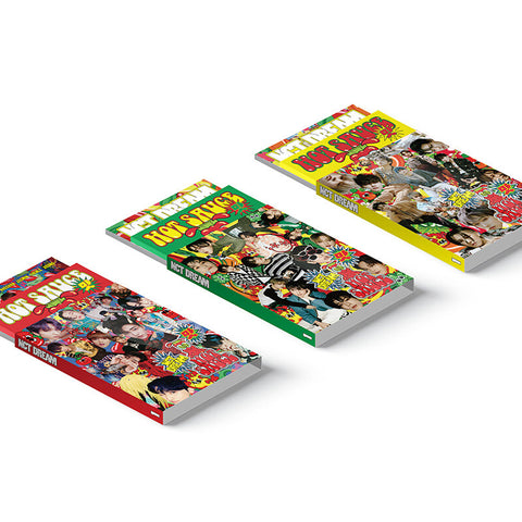 NCT DREAM 1ST ALBUM 'HOT SAUCE' (PHOTO BOOK) + POSTER