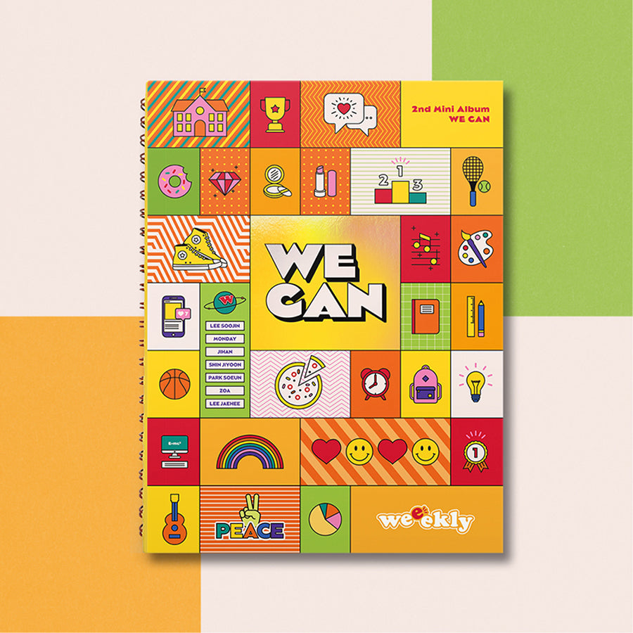 WEEEKLY 2ND MINI ALBUM 'WE CAN'