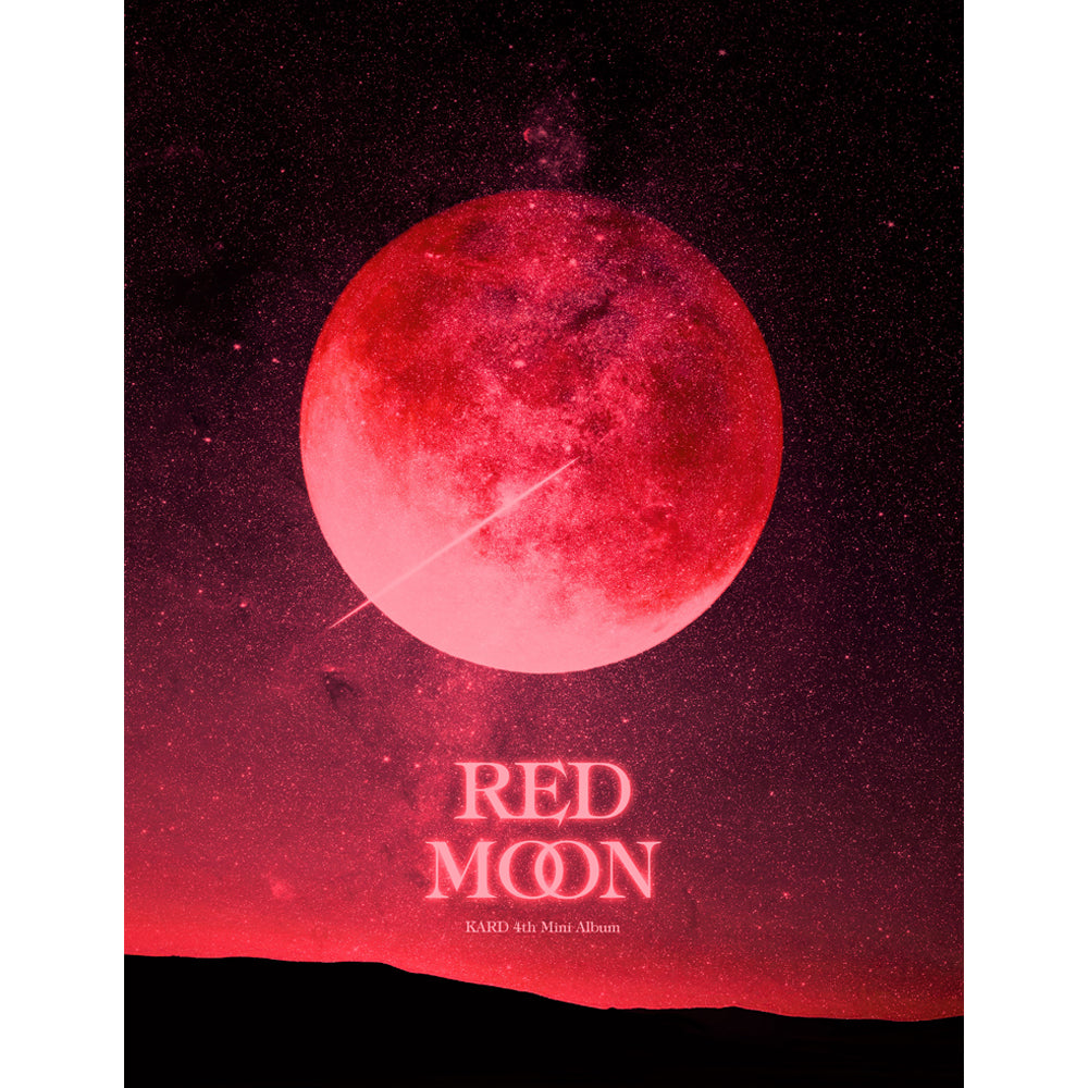 KARD 4TH MINI ALBUM 'RED MOON' + POSTER