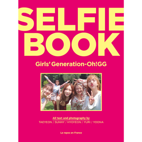 GIRL'S GENERATION Oh!GG SELFIE BOOK