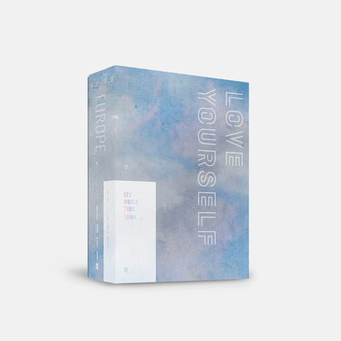 BTS 'WORLD TOUR LOVE YOURSELF EUROPE' DVD