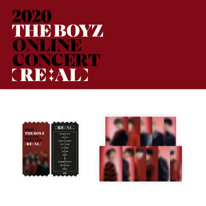 THE BOYZ '2020 RE:AL CONCERT TICKET CARD & PHOTO CARD SET'
