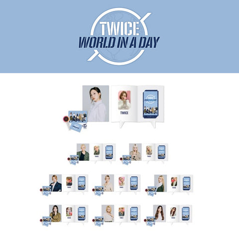 TWICE '2020 WORLD IN A DAY SPECIAL AR TICKET SET'