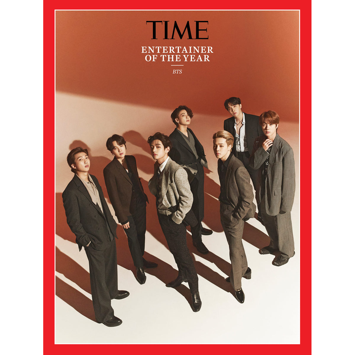 BTS 'TIME MAGAZINE - ENTERTAINER OF THE YEAR'