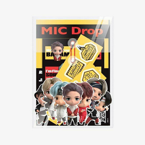 TINYTAN MIC DROP DECO STICKER & POUCH