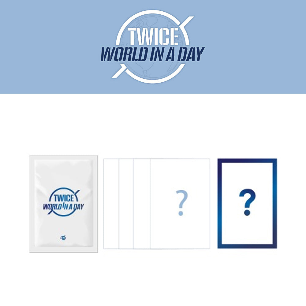 TWICE '2020 WORLD IN A DAY TRADING CARD'