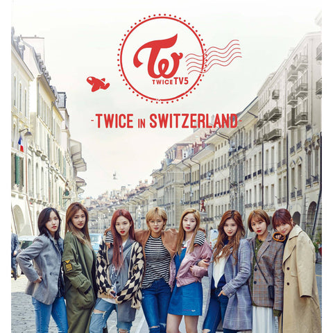 TWICE TV5 ' TWICE IN SWITZERLAND' PHOTO BOOK