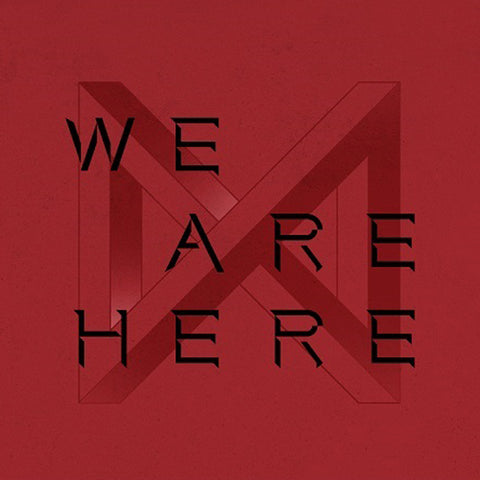 MONSTA X 2ND ALBUM TAKE.2 'WE ARE HERE' + POSTER
